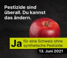 Schweiz ohne synthetische Pestizide